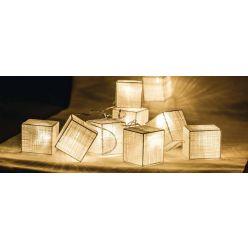 HQ HQLEDSLSQRCOT - LED dekorační řetěz, 10 LED, kostky