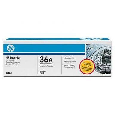 HP CB436A toner č.36A 2000str. (LJ P1505, M1120, M1522)