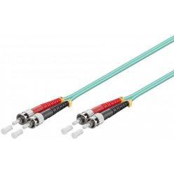 Optický patchkabel ST-ST 62,5/125 (multi mode), duplex, OM1, LSOH, 1m