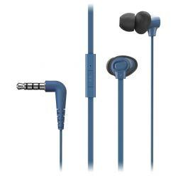 Panasonic RP-TCM130E-A, sluchátka do uší, mikforon, modrá