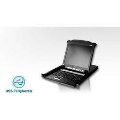 """ATEN KVM console CL-5708MA 8PC KVM 17""""LCD"""