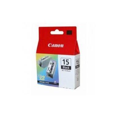 Canon inkoustová náplň BCI-15B/ 2ks v balení/ Černá