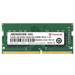 Transcend JetRam 16GB DDR4 2666MHz CL19, SO-DIMM