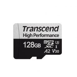 Transcend 128GB microSDXC karta, UHS-I U3 V30 A2