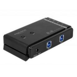 Delock Přepínač USB 3.0 Matrix 2 x 2