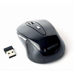Gembird bezdrátová USB myš, 6 tlačítek, černá