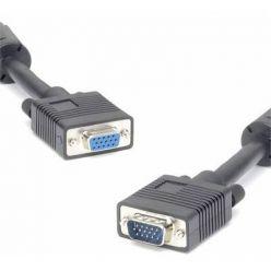 PremiumCord Kabel prodlužovací HQ(Coax) 2x ferrit, SVGA, DDC2, 3xCoax+8žil, 25m