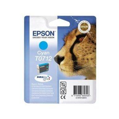 Epson T0712 azurová inkoustová cartridge, 5.5ml, C13T07124010