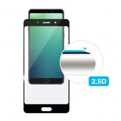 Ochranné tvrzené sklo FIXED Full-Cover pro Huawei Mate 30 Lite, lepení přes celý displej, černé