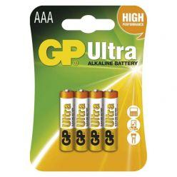 GP AAA Ultra alkalická - 4 ks