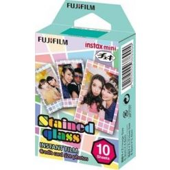 Instantní film Fujifilm Color Instax mini STAINED GLASS 10 fotografií