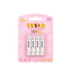 Tesla AAA TOYS+ GIRL alkalická, 4 ks