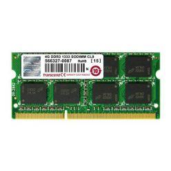 Transcend JetRam 4GB DDR3 1333MHz, CL9, SO-DIMM, retail