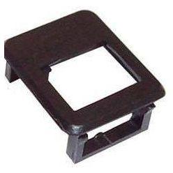Rámeček pro keystone modul, černý