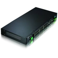 ZyXEL MES-3728, 24x10/100 + 2xGb/SFP + 2xSFP, L2+ managed switch