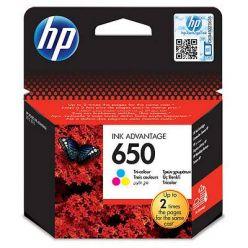 HP 650 tříbarevná inkoustová kazeta, CZ102AE