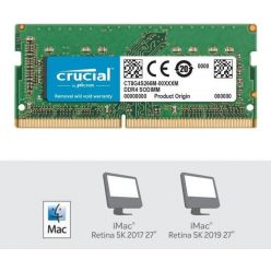"Crucial 16GB DDR4 2666MHz CL19, DR x8, SO-DIMM pro Apple iMac 27"" 5K (2019)"