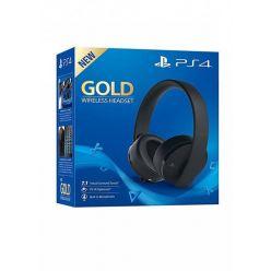 Sony PS4 GOLD bezdrátový 7.1 headset, černý