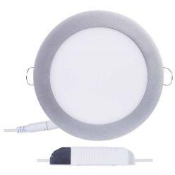 Emos vestavné LED svítidlo, kruh 12W/70W, NW neutrální bílá, IP20, stříbrné