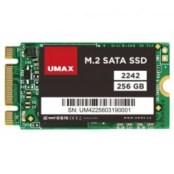 Umax 256GB M.2 2240 (SATA) SSD, TLC