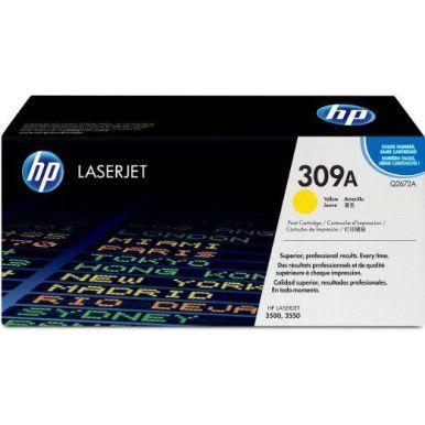 HP 309A, žlutý toner, 4000 stran, Q2672A