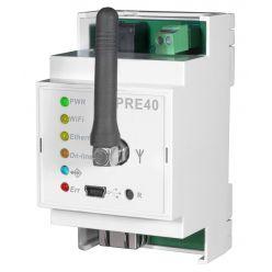 ELEKTROBOCK PRE40-ETH/WIFI Převodník ETH/WIFI-RS232 na DIN lištu