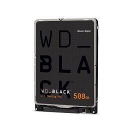 "WD Black 500GB, 2.5"" HDD, 7200rpm, 64MB, AF, SATA, 7mm"