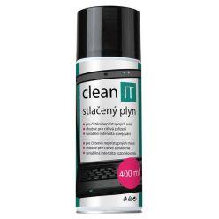 CLEAN IT stlačený plyn (vzduch), 400ml