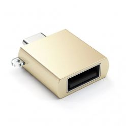 Satechi Type-c to USB-a 3.0 Adapter -Gold