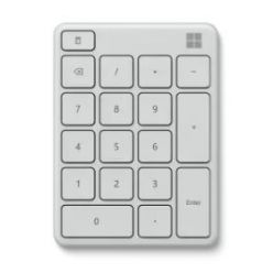 Microsoft Numerická Bluetooth klávesnice Wireless Number Pad, Glacier