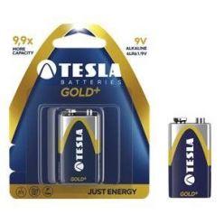 Tesla 9V GOLD+ alkalická, 1 ks