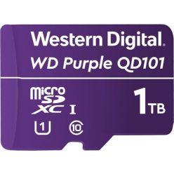 WD Purple 1TB microSDXC karta, UHS-I U1, 100R/60W