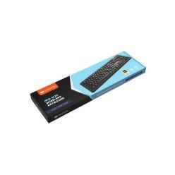 Canyon HKB-W20, bezdrátová klávesnice, velvet serie, CZ, USB, černá