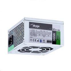 Akyga SFX PC zdroj 300W ventilátor 8cm