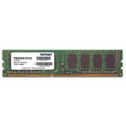Patriot 8GB DDR3 1333MHz, CL9, DIMM