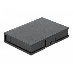 """Delock Ochranný kryt na pevný disk formátu 3.5"""" černá"""