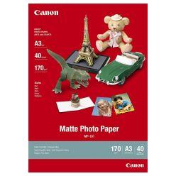 Canon fotopapír MP-101 - A3 - 170g/m2, matný, 40ks