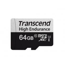 Transcend High Endurance 64GB microSDXC karta, UHS-I U1, 95R/45W