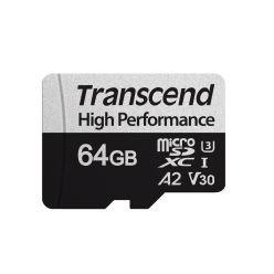 Transcend 64GB microSDXC karta, UHS-I U3 V30 A2