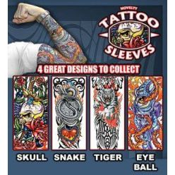 PRIME Novelty Tatoo Sleeves Assorted