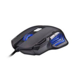 C-TECH AKANTHA, herní optická myš, 2400dpi, USB, modré podsvícení
