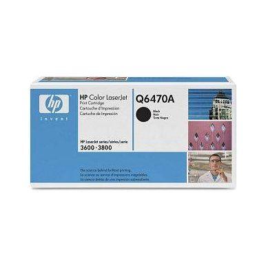 HP Q6470A, černý toner (4000 stran)