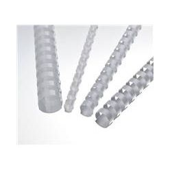 Plastové hřbety 22 bílé