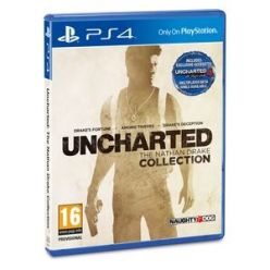 PS4 hra Uncharted Collection HITS