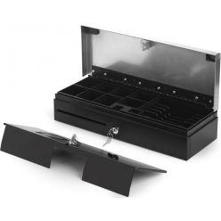 Pokladní zásuvka Capture 460 mm flip top 6B/8C, stříbrná