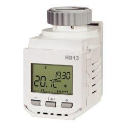 ELEKTROBOCK Digitální termostatická hlavice HD13 - prog.   tichý chod/ 8 časových změn v každém dni