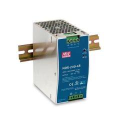 MEANWELL • NDR-240-24 • Průmyslový napájecí spínaný zdroj 24V 240W na DIN