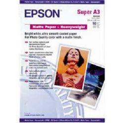 EPSON A3+,Matte Paper Heavyweight (50listů)
