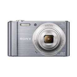 """SONY DSC-W810S 20,1 MP, 6x zoom, 2,7 """" LCD - SILVER"""