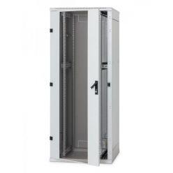 Stojanový rozvaděč 18U (š)600x(h)600 plech.dveře